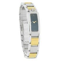 Movado Elliptica Series Ladies Black Dial Swiss Quartz Watch...