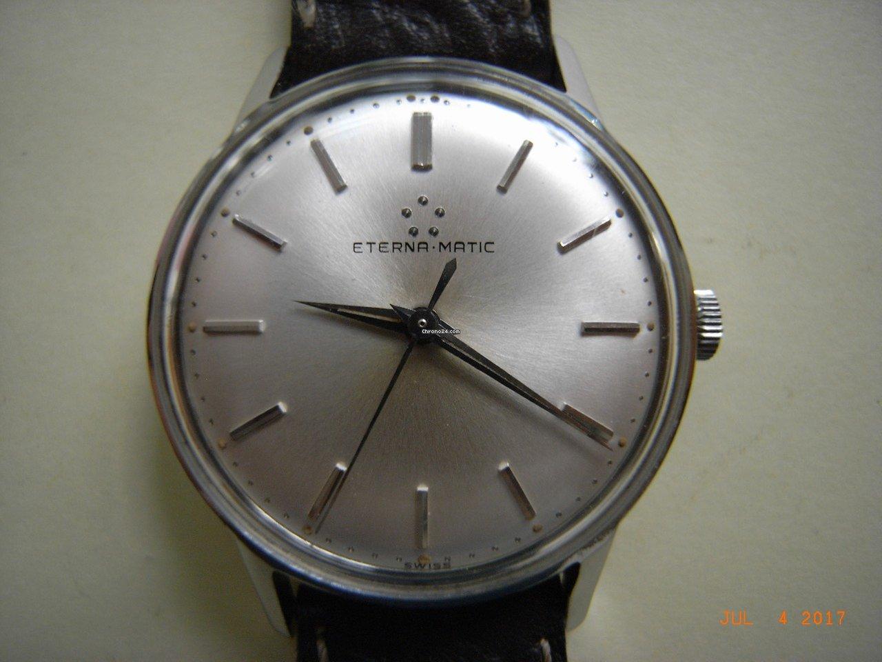 902f02f4bb1 Eterna Matic Aço - Todos os preços de relógios Eterna Matic Aço na Chrono24