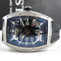 Cvstos new Automatic Skeletonized 53,7mm Steel Sapphire Glass
