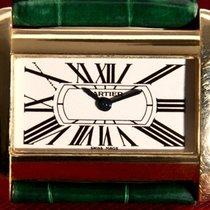 Cartier Divan Lady 18K/750 Yellow Gold & Original strap & 18K...
