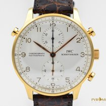 IWC Portuguese Chronograph Rattrapante Rose Gold Full Set