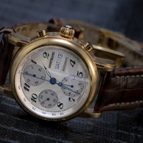 Montblanc Meisterstuck Star Ref. 7016 Chronograph Gold Plated