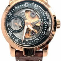 Armin Strom 43.4mm Manual winding pre-owned Black