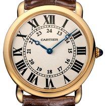Cartier Ronde Louis Cartier Roségold 36mm Silber Römisch Deutschland, Frankfurt am Main