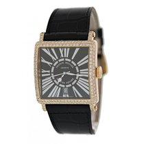 Franck Muller Master Square Rose gold 36mm Black