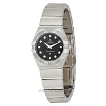 Omega Constellation Quartz Steel 24mm Black United States of America, California, San Mateo