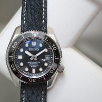 Seiko Marinemaster pre-owned 43mm Black Date Steel