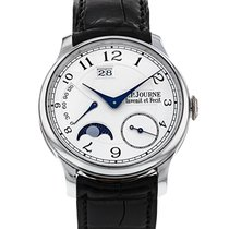 F.P.Journe 38mm Manual winding 2008 pre-owned Octa Silver