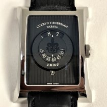 Cuervo y Sobrinos Steel 47.5mm Automatic cuervo sobrinos 2412.82 new
