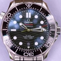 Omega Seamaster Diver 300 M Сталь 42mm Чёрный Без цифр Россия, Moscow