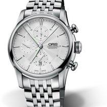 Oris Artelier Chronograph Steel 42mm Silver