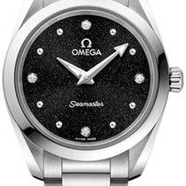 Omega Seamaster Aqua Terra Steel 28mm Black No numerals