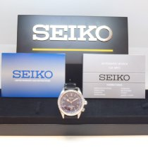 Seiko new Automatic Center Seconds Luminescent Hands Limited Edition Screw-Down Crown Quick Set Luminous indexes 39.5mm Steel Sapphire Glass