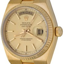 Rolex Day-Date Oysterquartz Yellow gold 35mm Champagne No numerals United States of America, Texas, Dallas
