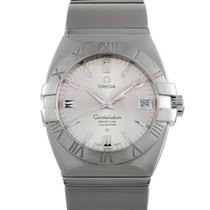 Omega Constellation Double Eagle Steel 35mm Silver