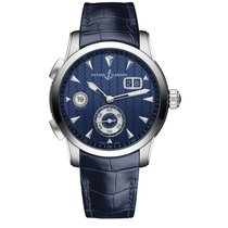 Ulysse Nardin Dual Time new Automatic Watch with original box and original papers 3343126LE/93