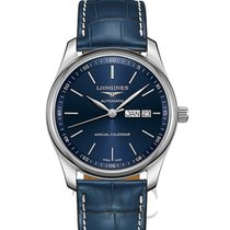 Longines Master Collection Steel 40.00mm Blue