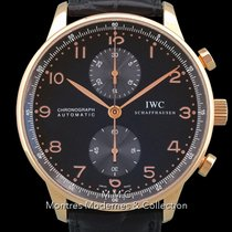 IWC Portuguese Chronograph Or rose 40.9mm Arabes France, Paris