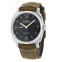 Panerai Radiomir 1940 3 Days Automatic Acier 45mm Noir Arabes France, Lyon