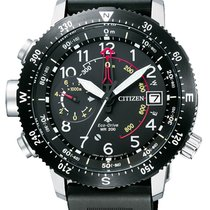 Citizen Steel Quartz Black 47mm new Promaster Land