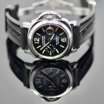 Panerai Luminor Marina Automatic pre-owned 44mm Black Date Rubber