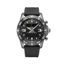 Breitling Chronospace Military Сталь 46mm Черный Без цифр