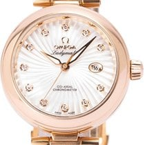 Omega Or rose Remontage automatique 34mm occasion De Ville Ladymatic