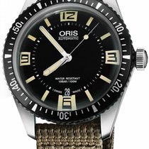 Oris Divers Sixty Five Steel 40mm Black Arabic numerals United States of America, California, Moorpark