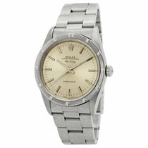 Rolex 14010 Steel 1993 Air King Precision 34mm pre-owned United States of America, New York, New York