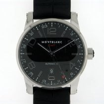 Montblanc Timewalker GMT Black Dial 36065
