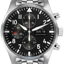 IWC Pilot's Watch Chronograph Black Dial 43mm Bracelet