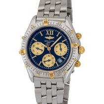 Breitling Jetstream Chronograph Two Tone Men's Watch –...