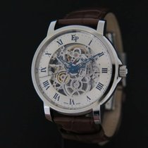 Pequignet 40mm Automatic 2009 pre-owned Moorea Silver