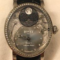 Bovet nuevo Automático Con piedras preciosas y diamantes Agujas luminosas Serie limitada 41mm Oro blanco Cristal de zafiro