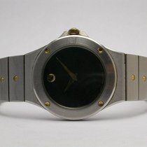 Movado #86.a1.837 Museum Black Dial Stainless Steel/gold...