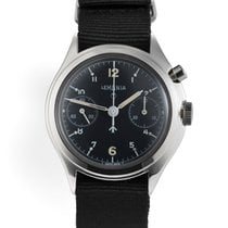 Lemania 6B/551 Military - Single Button Chronograph
