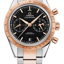 Omega Speedmaster 57 Omega Co-Axial Chronograph Steel &...