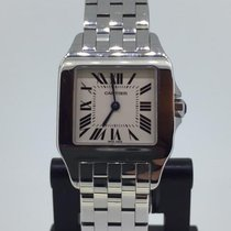 Cartier Santos Demoiselle pre-owned 26mm White Steel