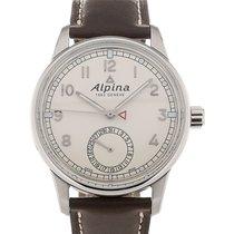 Alpina Alpiner KM-710 42 Beige Dial Brown Leather Strap