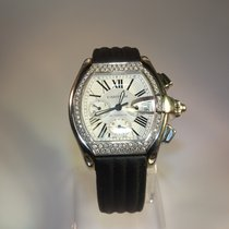 Cartier Roadster XL Chronograph Stainless Steel Automatic...