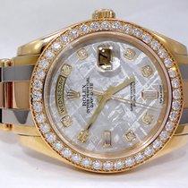 Rolex Masterpiece Day-date 18k Tridor Gold Meteoritre Diamond...
