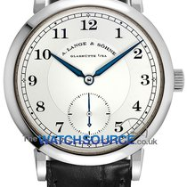 A. Lange & Söhne 1815 White gold 38.5mm Silver Arabic numerals