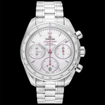 Omega Speedmaster Steel 38mm White United States of America, California, San Mateo