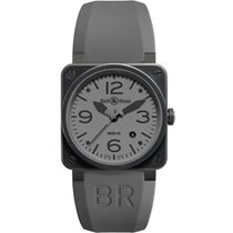 Bell & Ross BR 03-92 Ceramic BR0392-COMMANDO-CE new