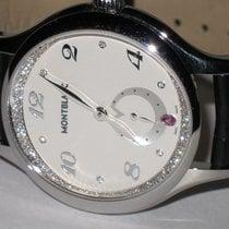 Montblanc Princess Grace De Monaco pre-owned 34mm Silver Leather