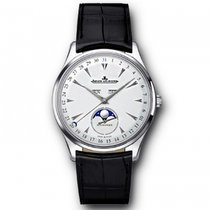 Jaeger-LeCoultre White gold Automatic Silver 39mm new Master Ultra Thin