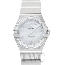 Omega Constellation Quartz Steel 27.00mm Mother of pearl