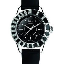 Dior New  Christal Ladies Watch Cd113115a001 Diamond Accented...