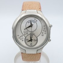 Philip Stein 44mm Quartz pre-owned Mother of pearl