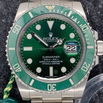 Rolex 116610LV Aço 2014 Submariner Date usado